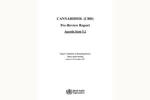 World Health Organisation Report on CBD