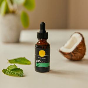 Cannaray Night Time CBD Oil with Coconut and Peppermint