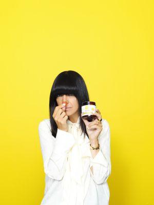 Claudia Winkleman with Cannaray CBD Gummies