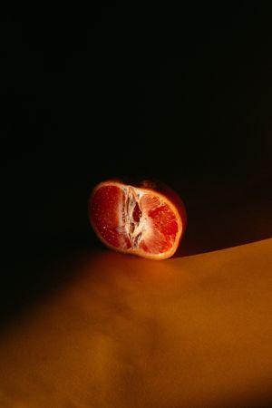 Blood orange segment