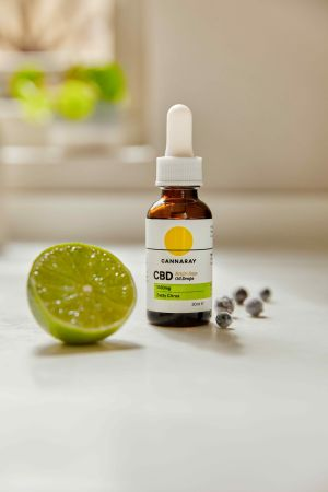 Cannaray Bright Days CBD Oil Drops 1500mg with Juniper & Lime