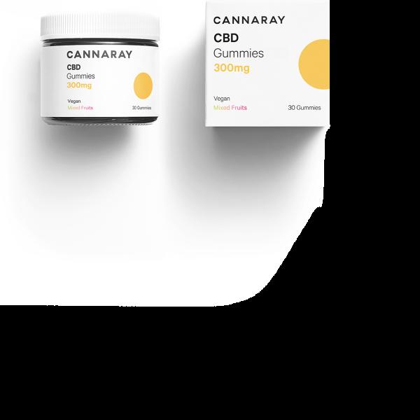 Cannaray CBD Gummies 300mg