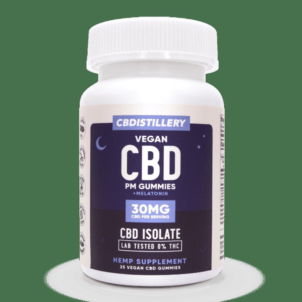 CBDistillery CBD Nighttime Gummies 30mg 25 Count