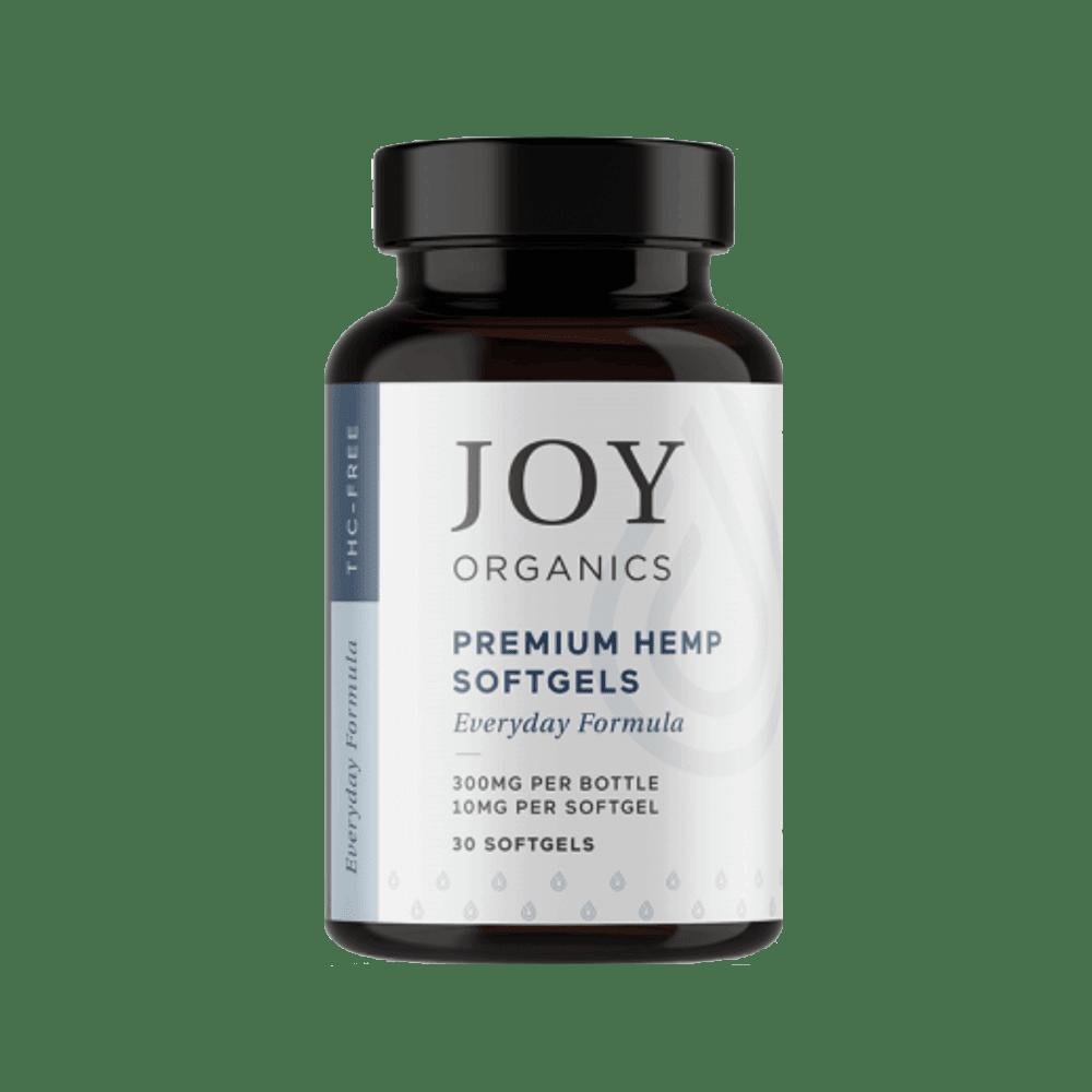 joy organics CBD Softgels