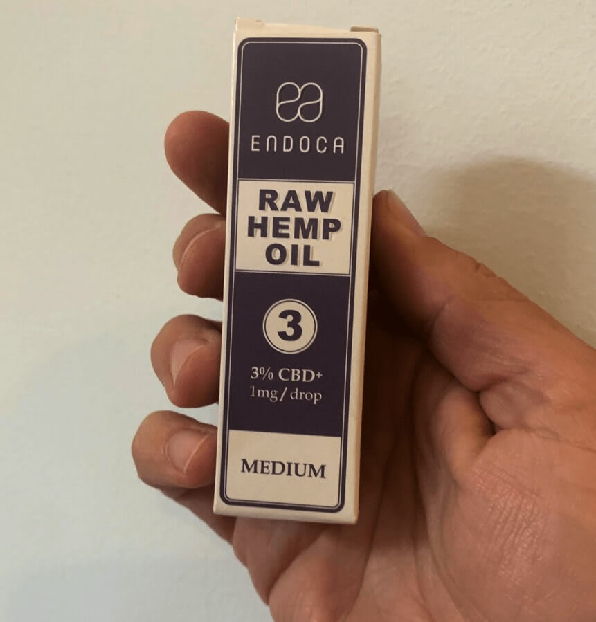 The Endoca 300 mg 3% full spectrum CBD oil