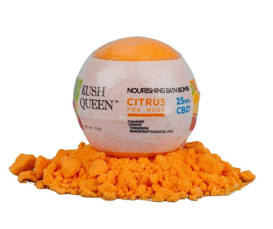 Kush Queen 25mg bath bomb