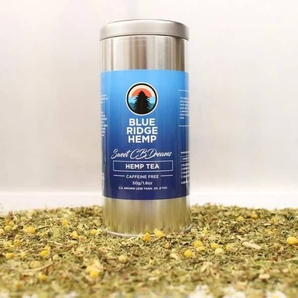 Sweet CBDreams Hemp Tea by Blue Ridge Hemp