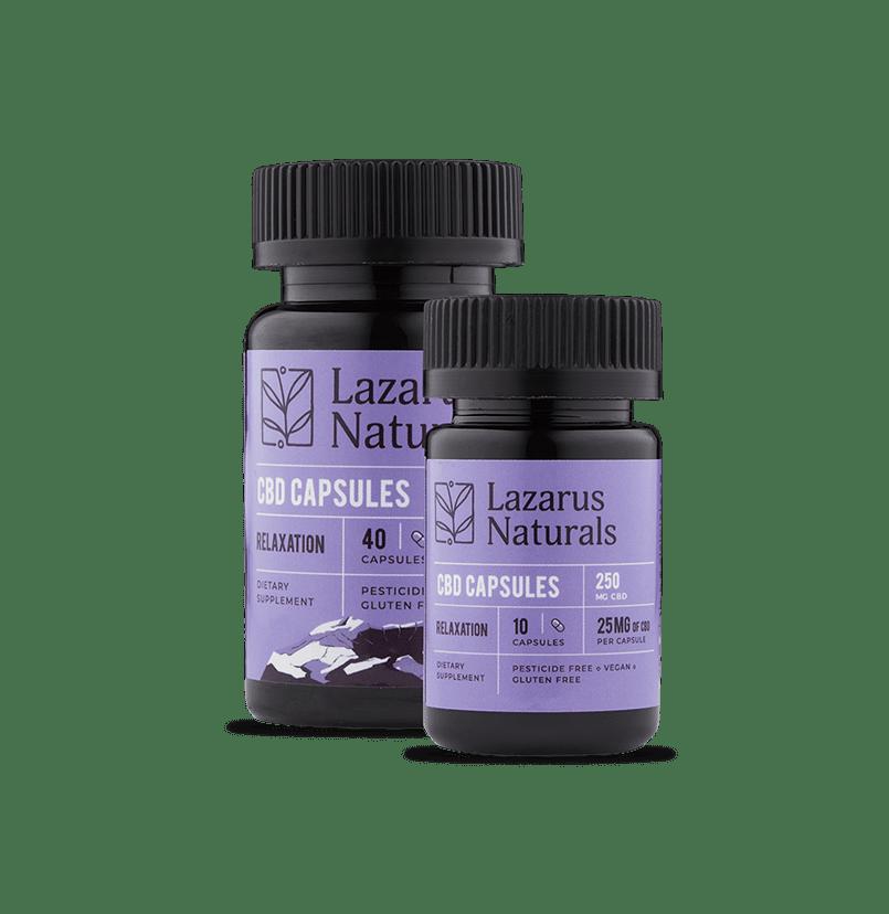 Lazarus Naturals 25 mg capsules