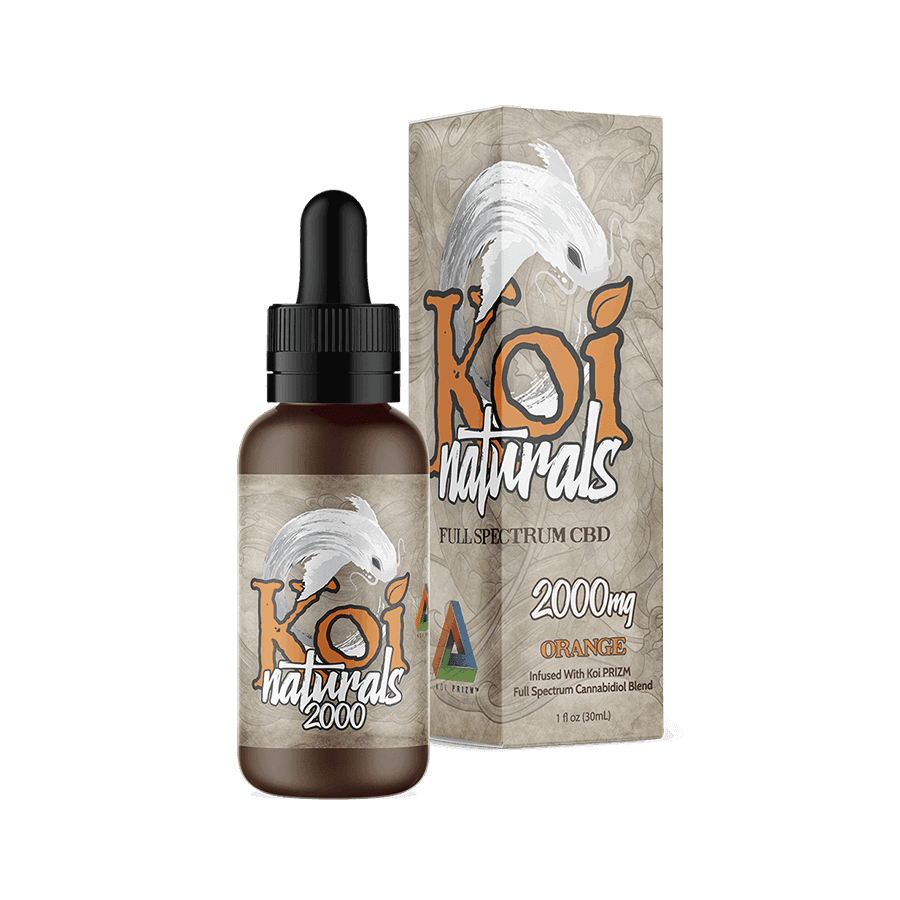Koi Naturals Full Spectrum CBD Tincture/Orange