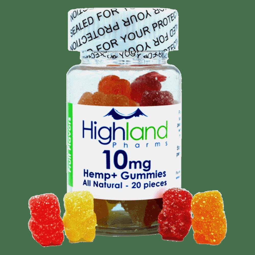 Highland Pharms All Natural Gummies 10mg Per Piece