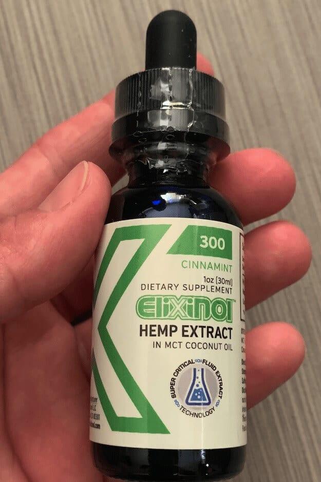 Elixinol 300 mg Cinnamint CBD Oil