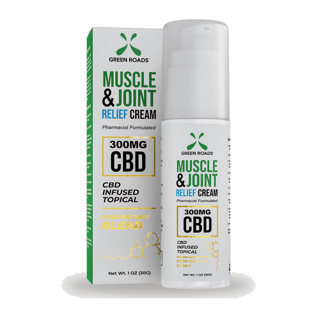 Green Roads Soothing CBD Topical Cream 300mg Muscle and Joint Relief