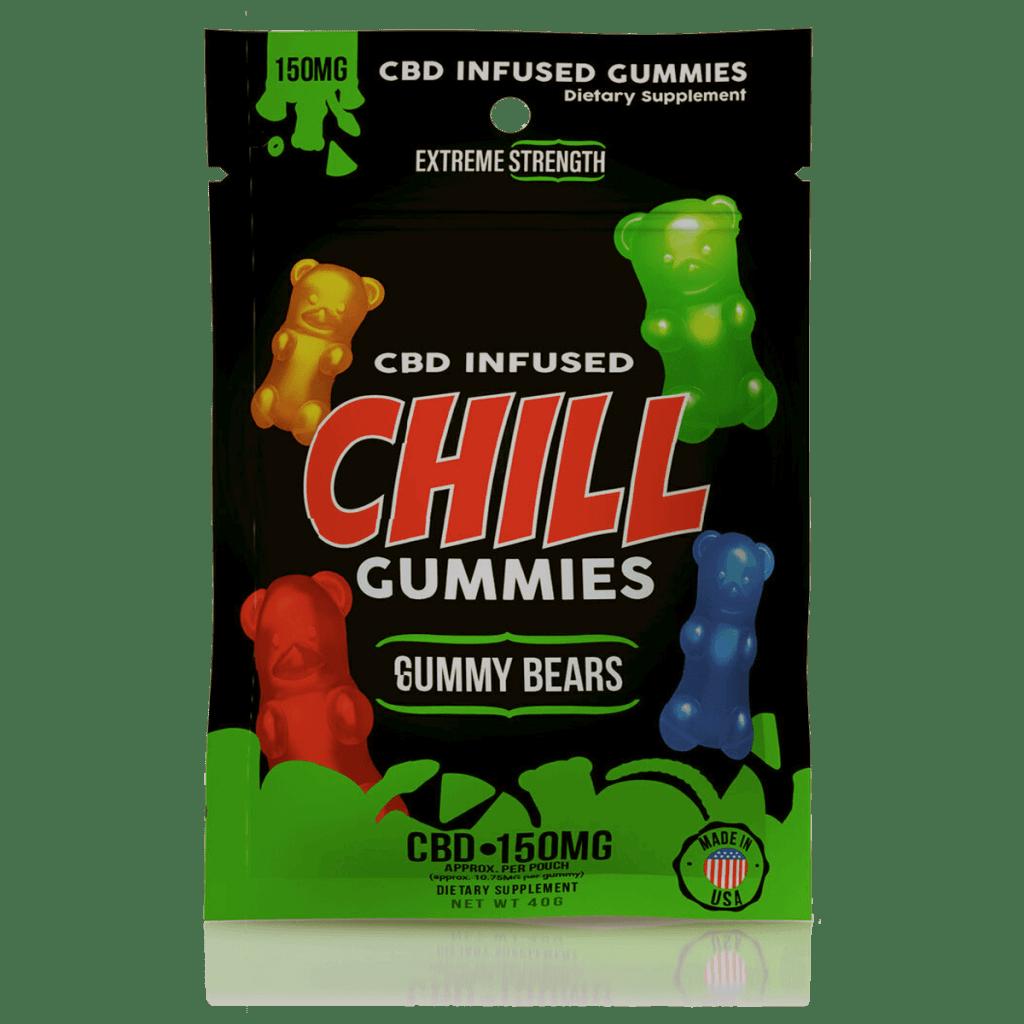 Diamond CBD Chill Gummies CBD Infused Gummy Bears