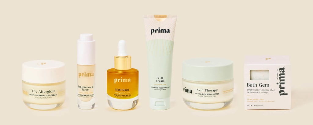 Prima product lineup
