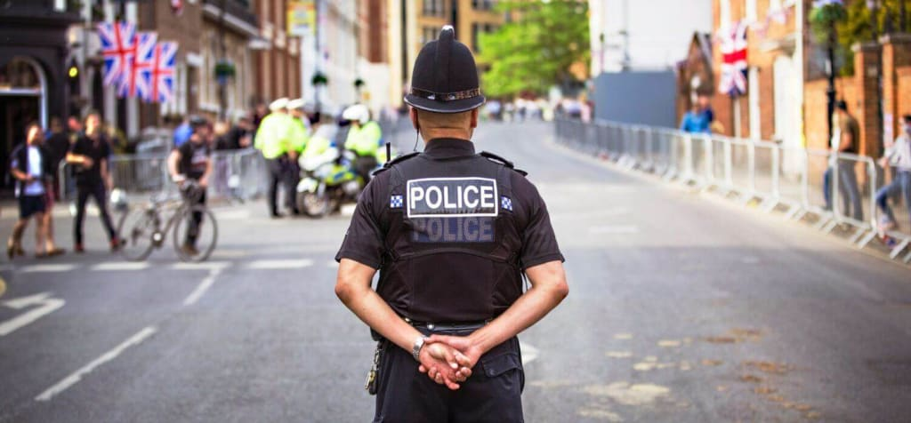 police in the uk image - is CBD legal?