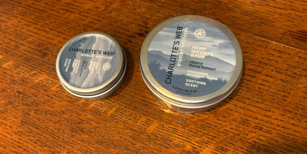 Charlotte's Web Hemp Infused Balm With Cbd Review