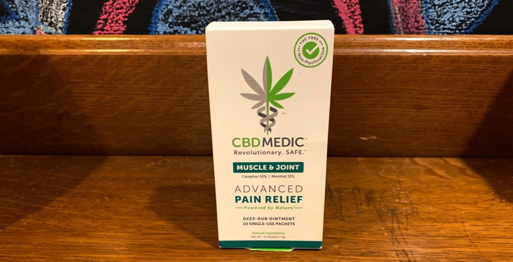 CBDMEDIC Muscle & Joint Cream Review