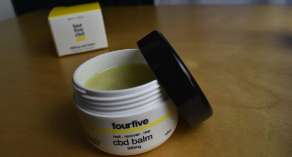 Summary of fourfivecbd CBD balm
