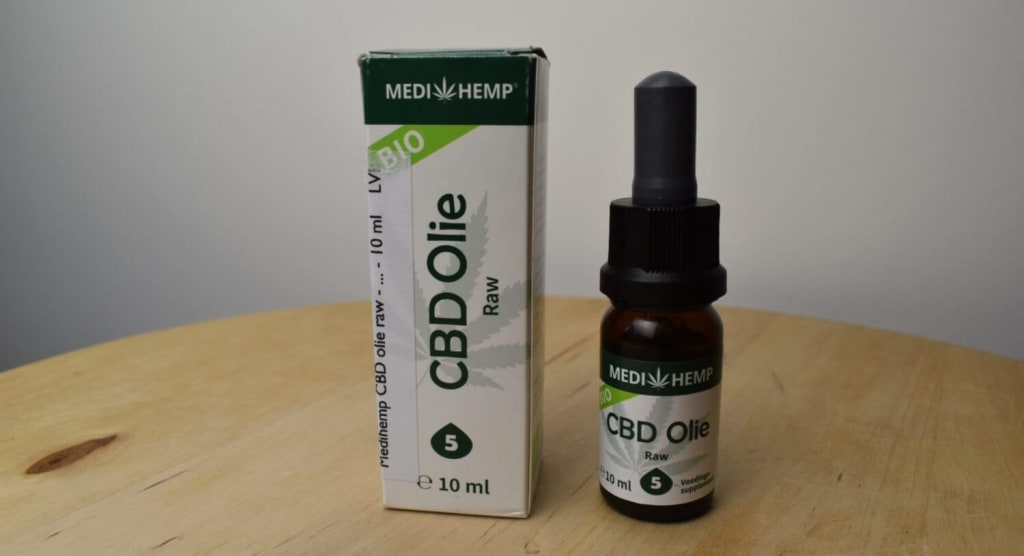 Medihemp CBD Oil Raw 5%