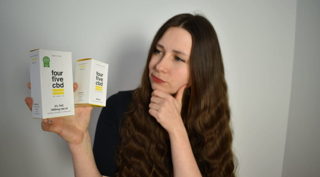 fourfivecbd Capsules vs fourfivecbd 0% THC 1000mg CBD Oil review - Which is better?