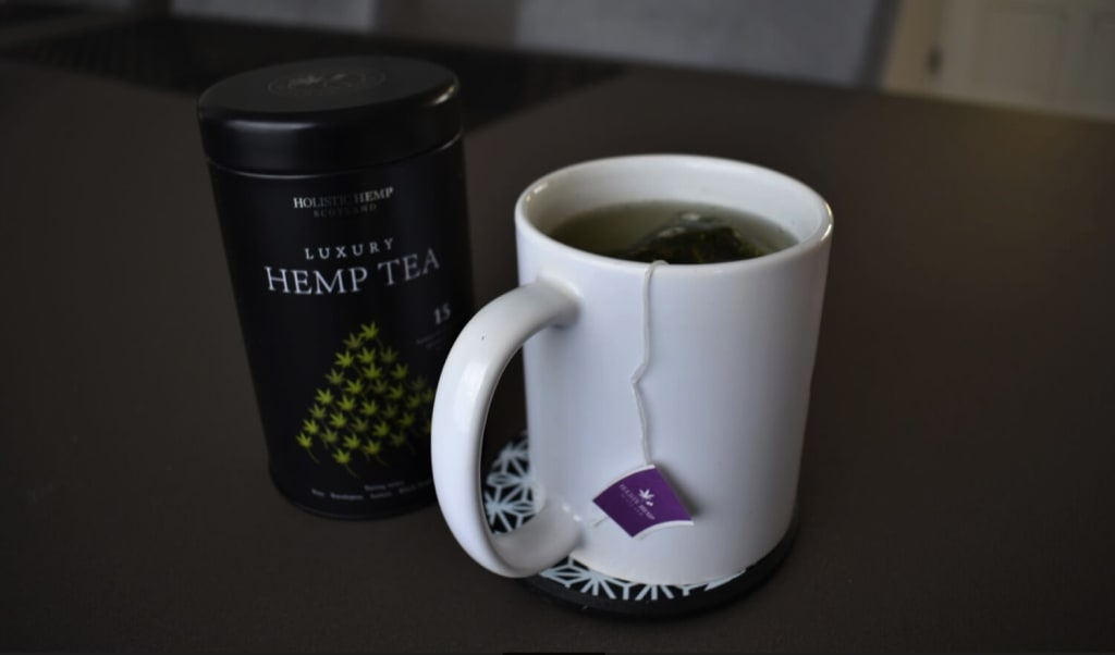 What is Luxury Hemp tea?