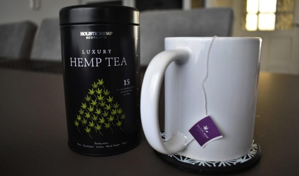 Summary of Holistic Hemp Scotland Luxury Hemp Tea