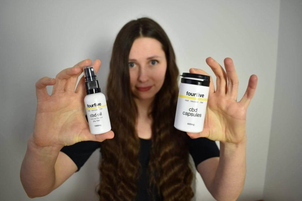 Fourfive-CBD-Capsules-vs-FourFive-0%THC