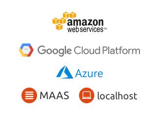 Public cloud logos