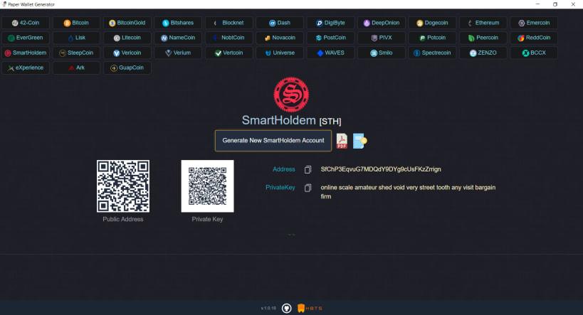 bitcoin offline generator wallet