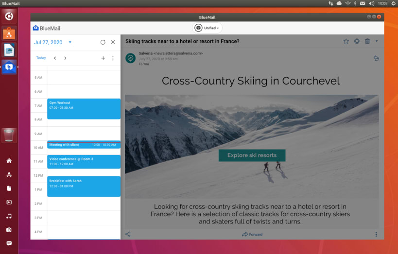 Install BlueMail on Ubuntu 21.04 using the Snap Store | lateweb.info