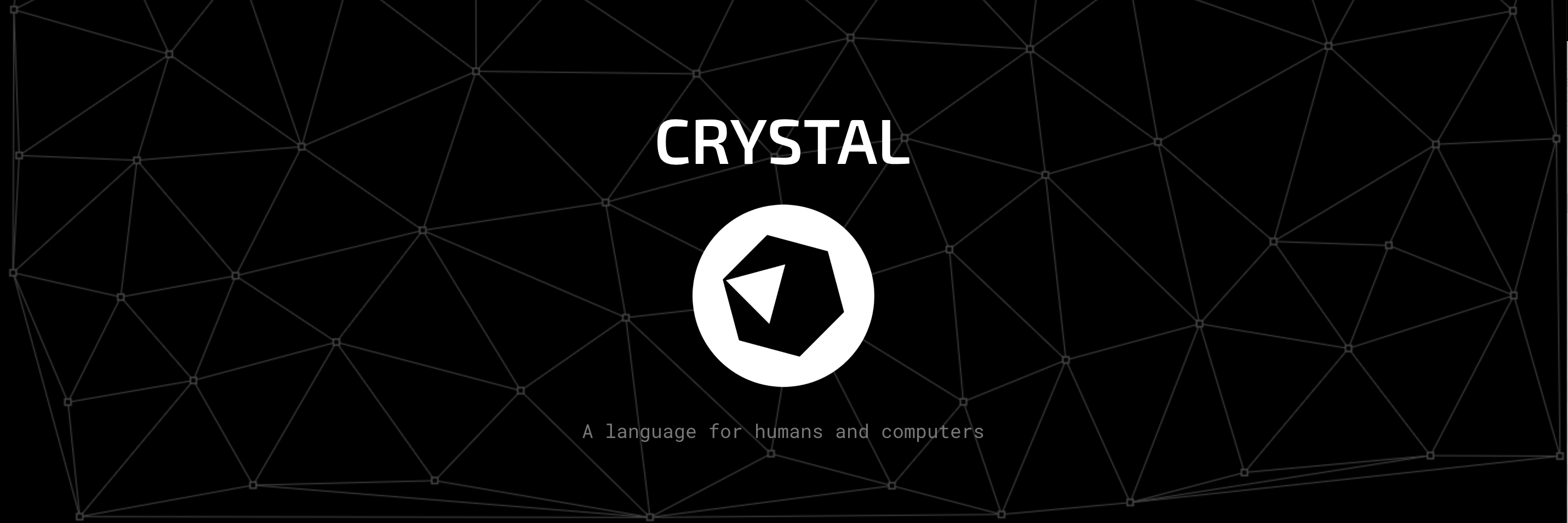 Crystal banner