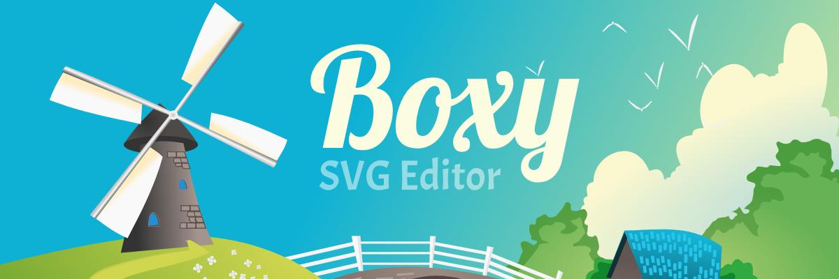Boxy SVG banner