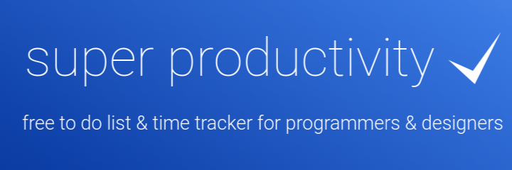 Super Productivity banner