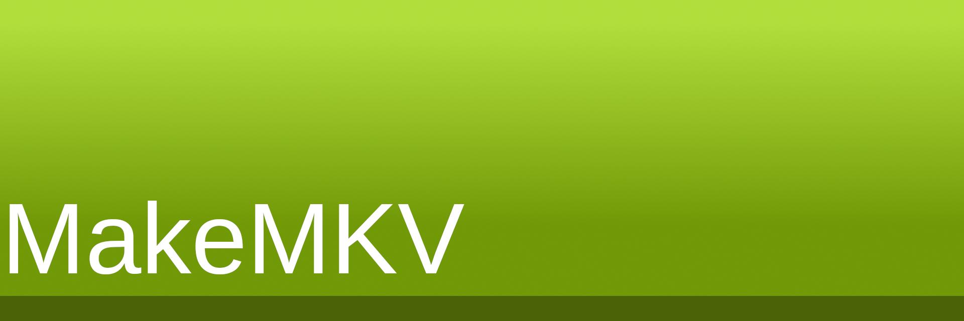 MakeMKV banner