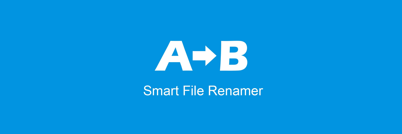 Smart File Renamer banner