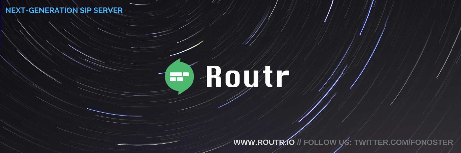 Routr Server banner