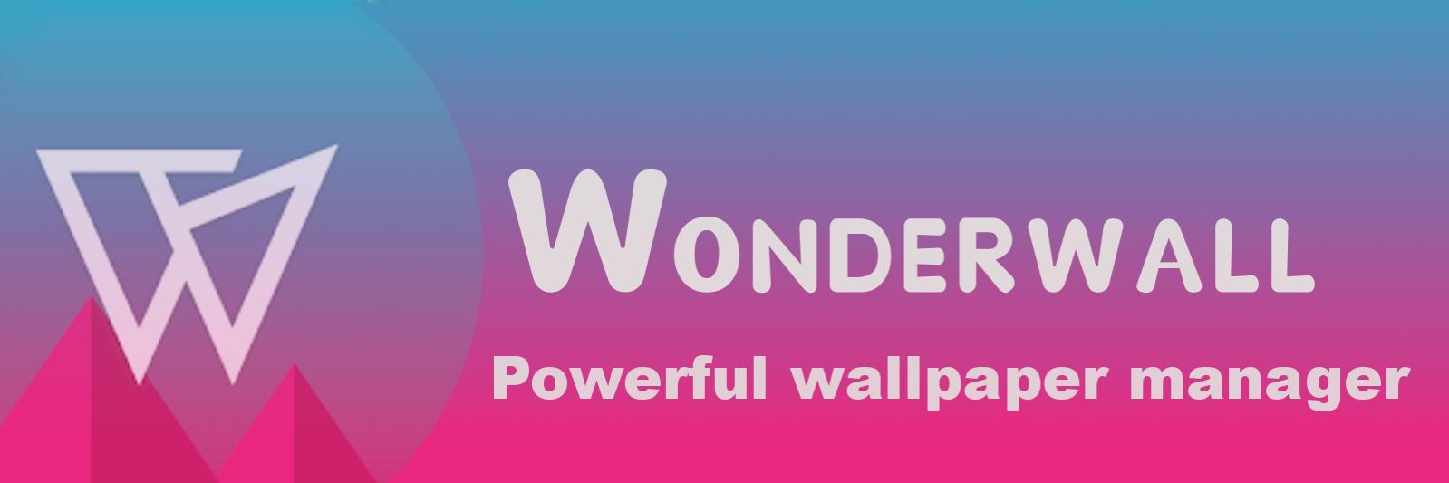 Wonderwall - Wallpaper Manager banner