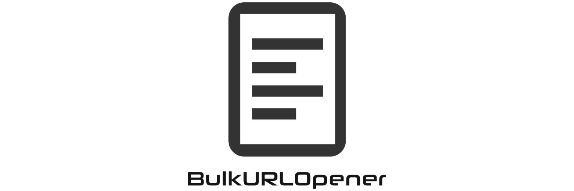 Bulk URL Opener banner