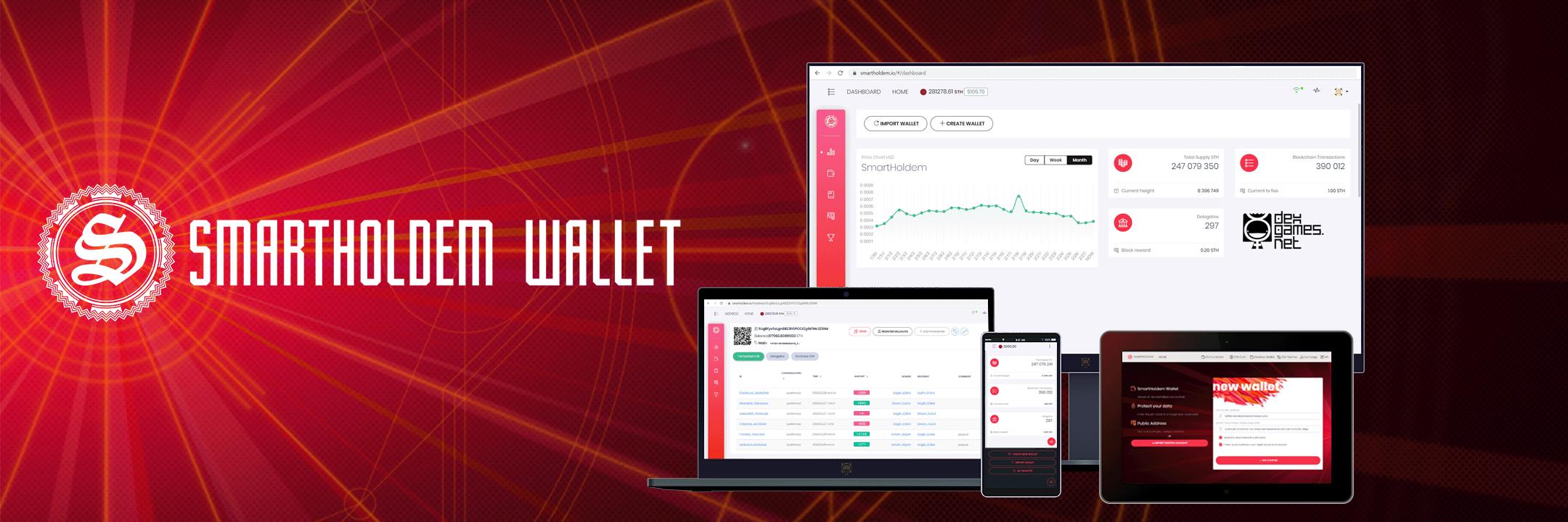 SmartHoldem Secure Desktop Crypto Wallet banner