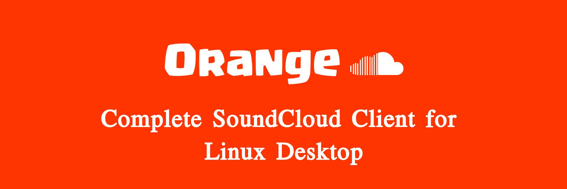 Orange - SoundCloud Client banner