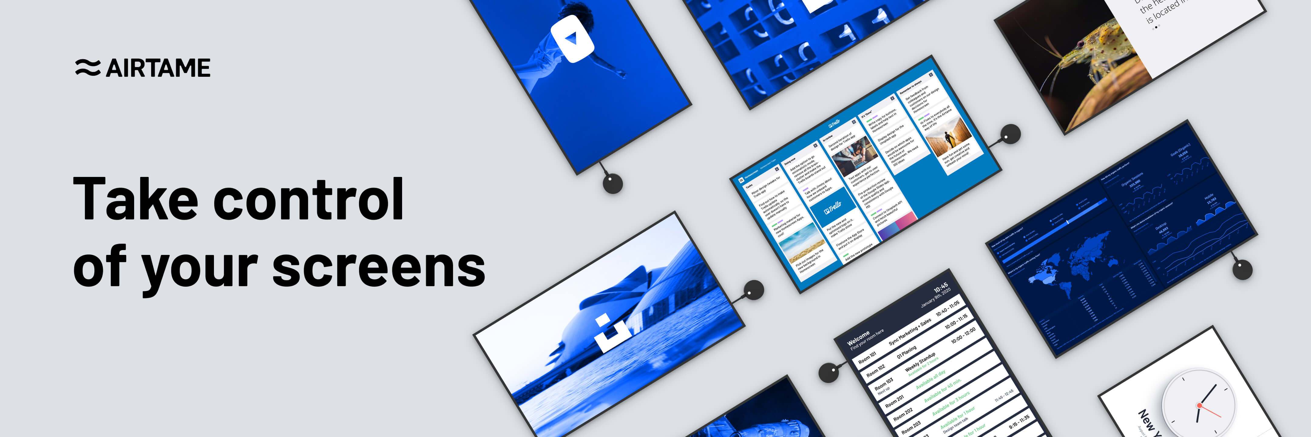 Airtame Application banner