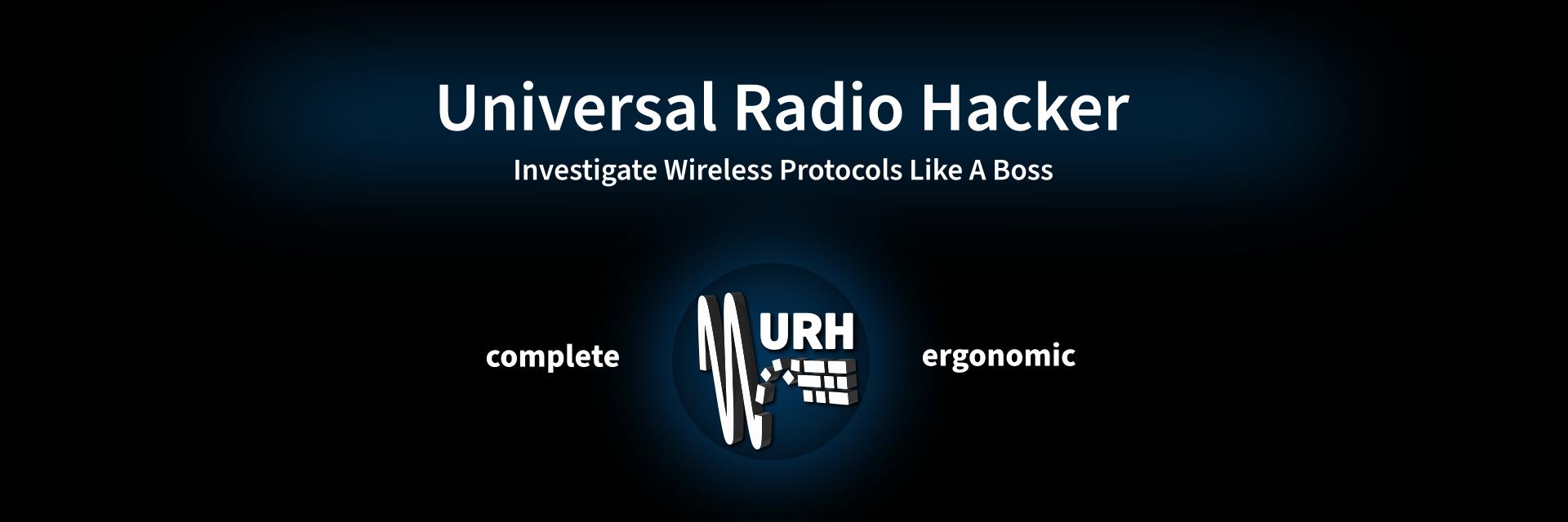 Universal Radio Hacker banner