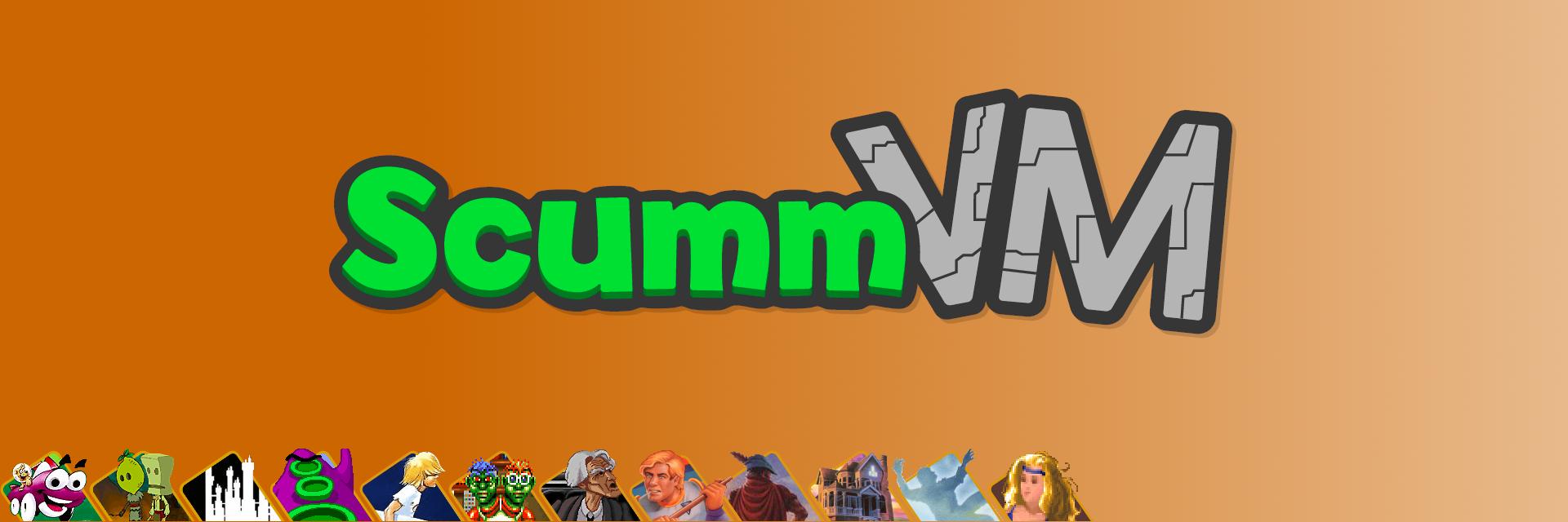 ScummVM banner