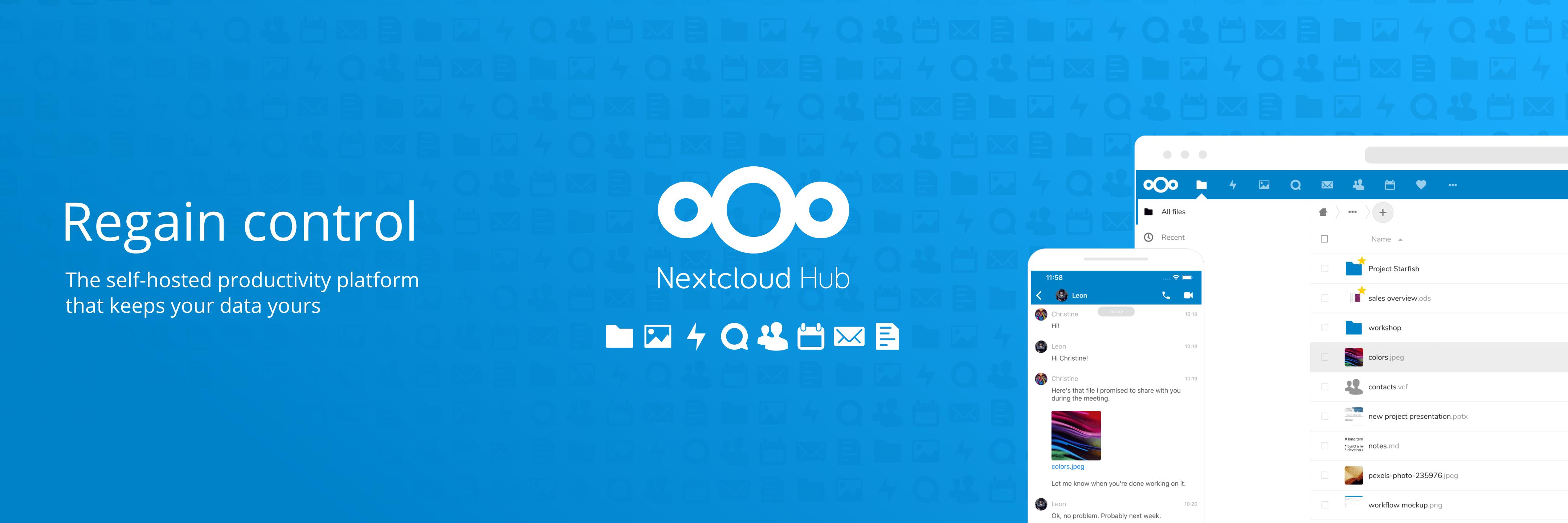 Nextcloud banner
