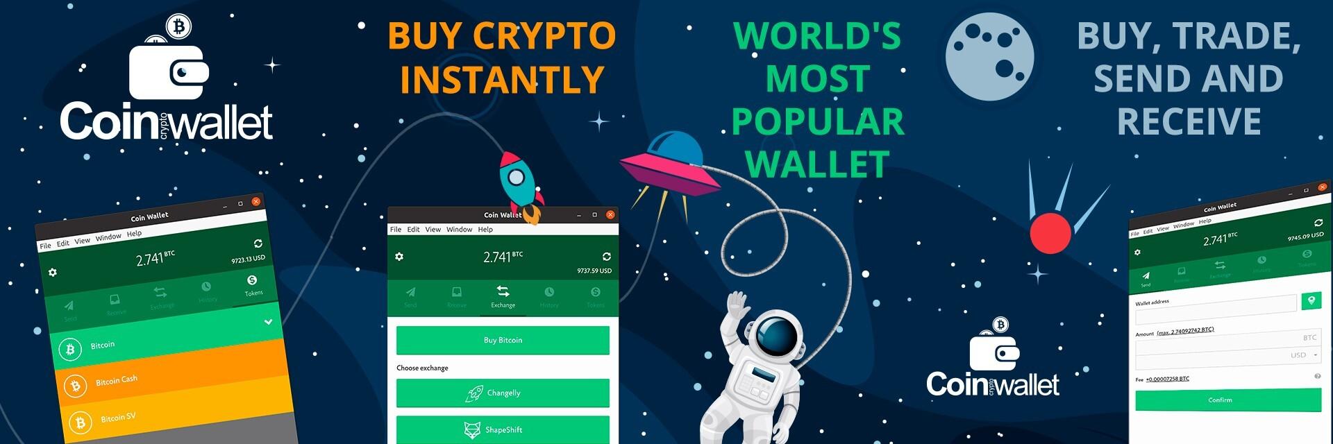 Coin Wallet banner