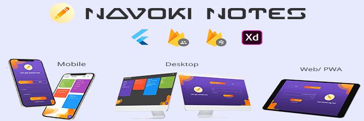 Navoki Notes Demo banner