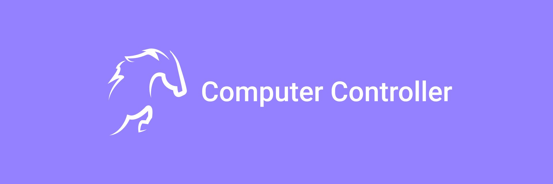 Computer Controller banner