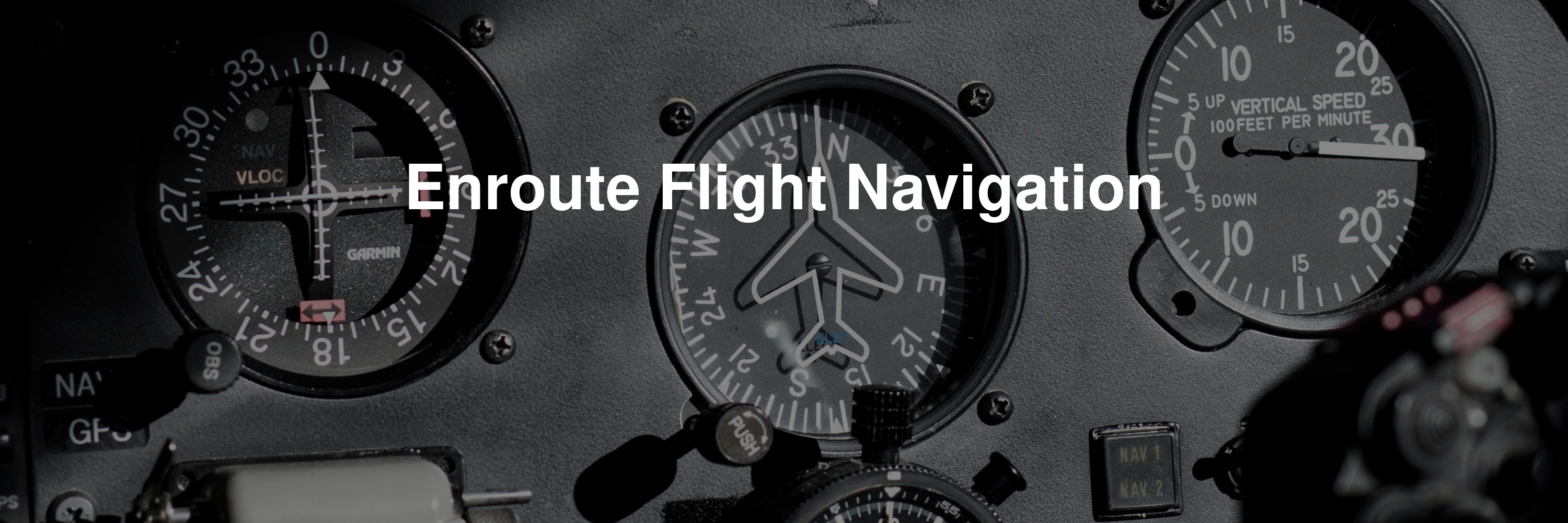 Enroute Flight Navigation banner