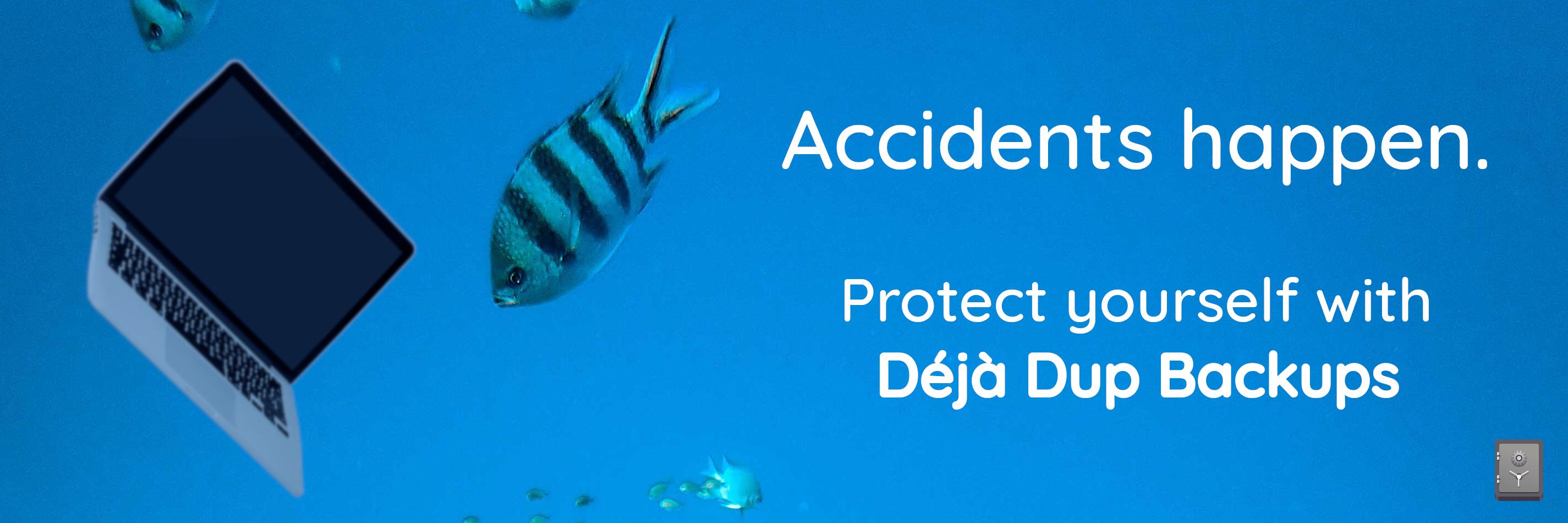 Déjà Dup Backups banner