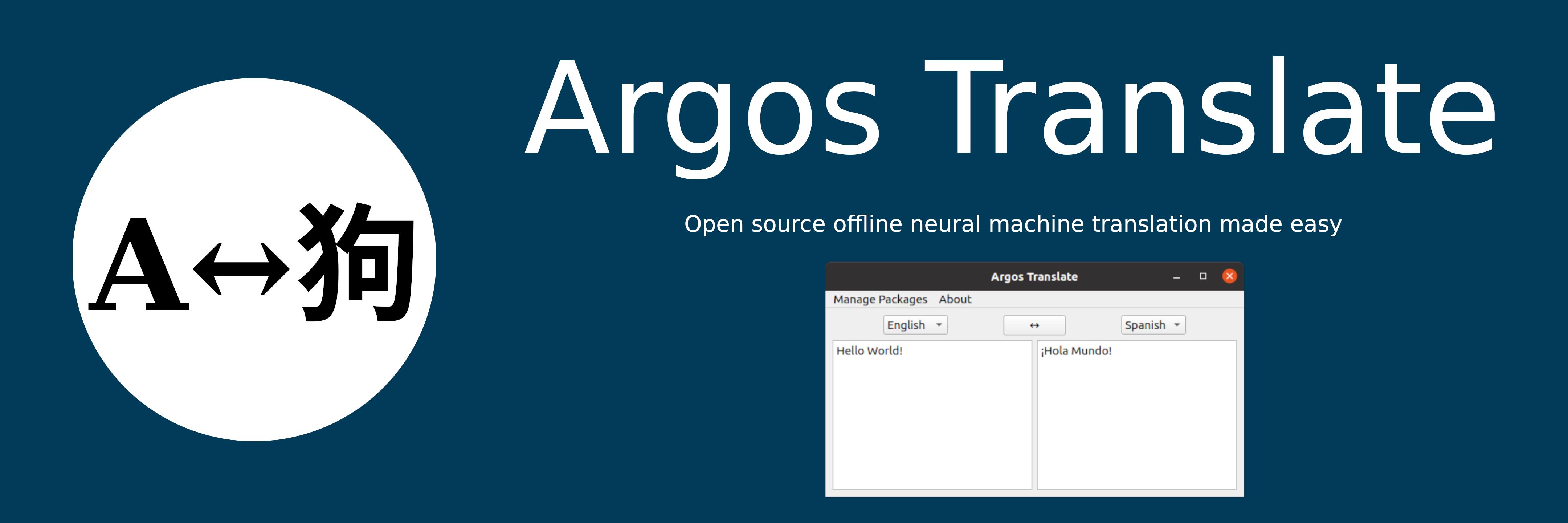 Argos Translate banner